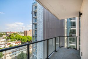 Just listed! Scenic views from your own private terrace @ #913 The Oakman, Jersey City