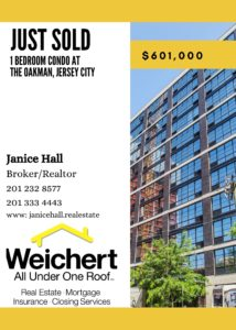 JUST SOLD! 160 1ST STREET #913, JERSEY CITY